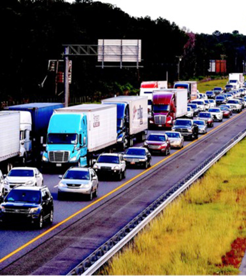 Florida evacuations create traffic nightmare. * Sansara Nepal